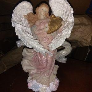 Vintage Snowflake Angel